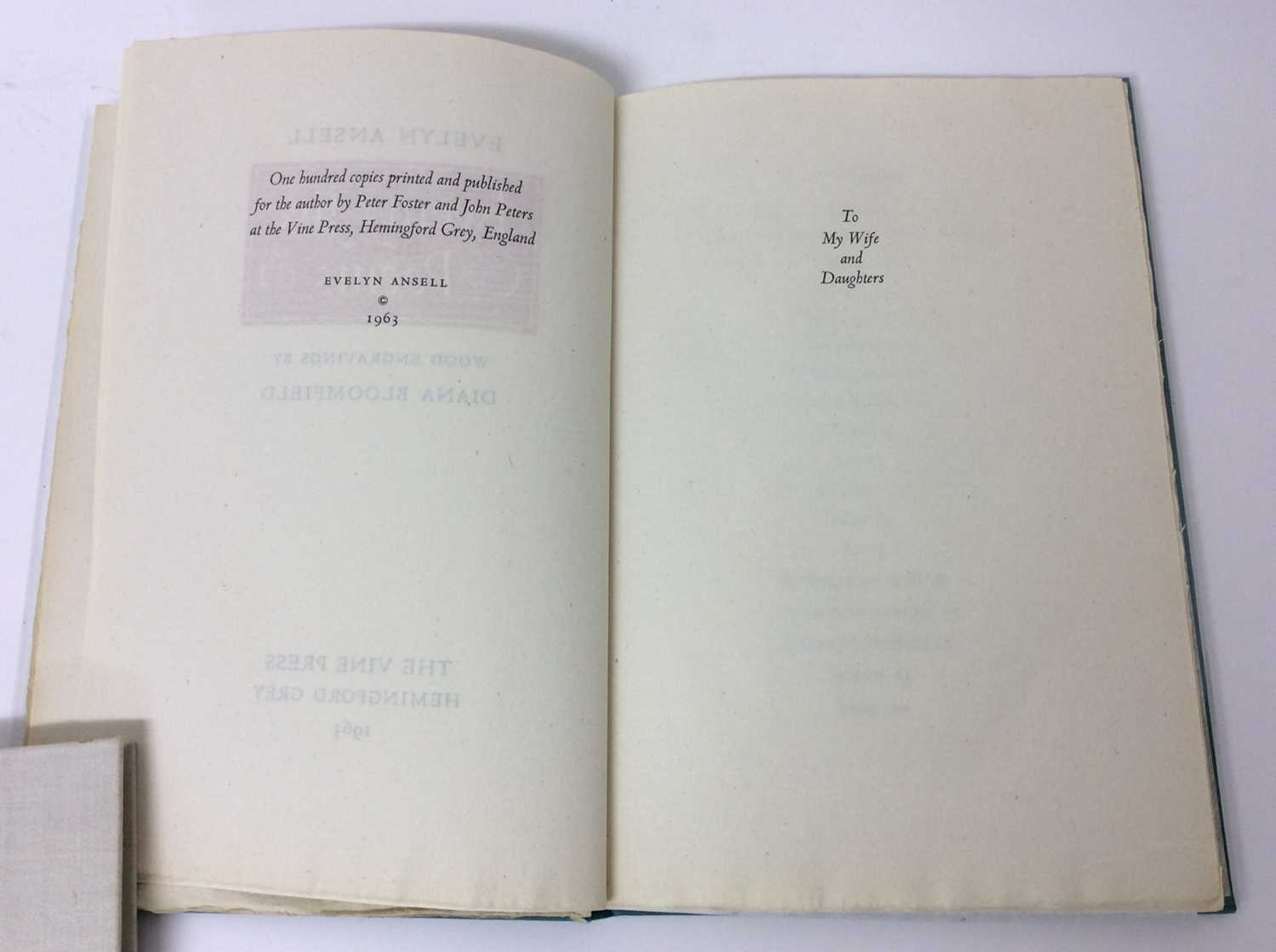 Evelyn Ansell - Twenty Five Poems, also Poems from the Works of Charles Cotton, illustrated by Claud - Image 5 of 13