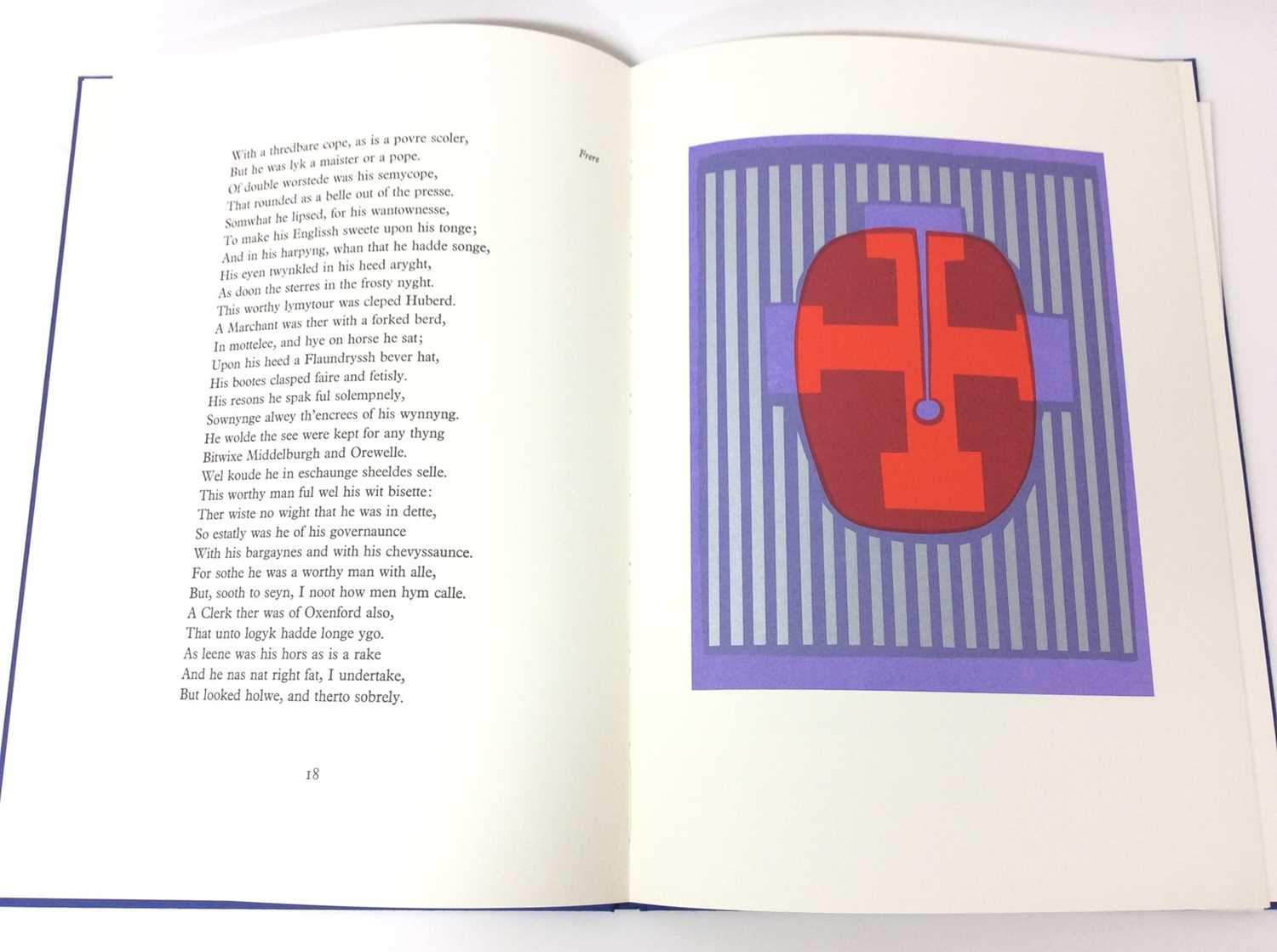 Geoffrey Chaucer and Ronald King (British b.1932) - The Prologue, From the Canterbury Tales - Image 5 of 8
