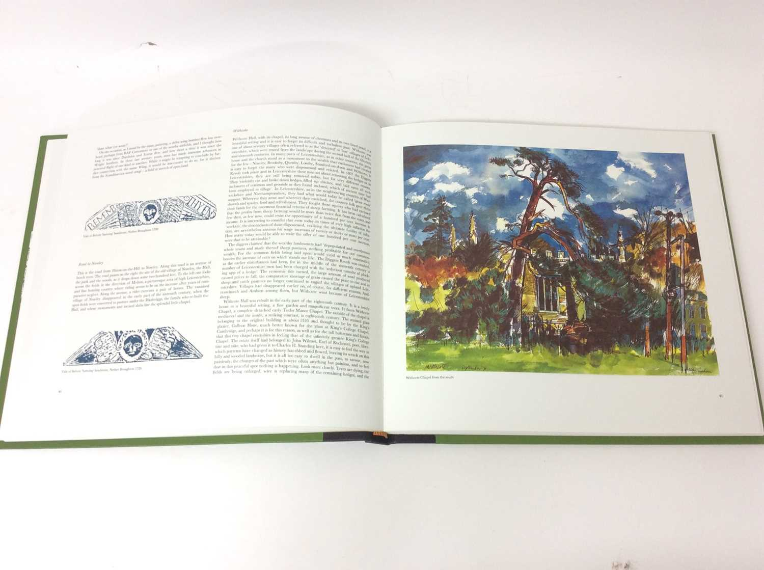 Rigby Graham, Leicestershire, Sycamore Press / Gadsby Gallery, Leicester 1980, folio book in slip co - Image 7 of 10