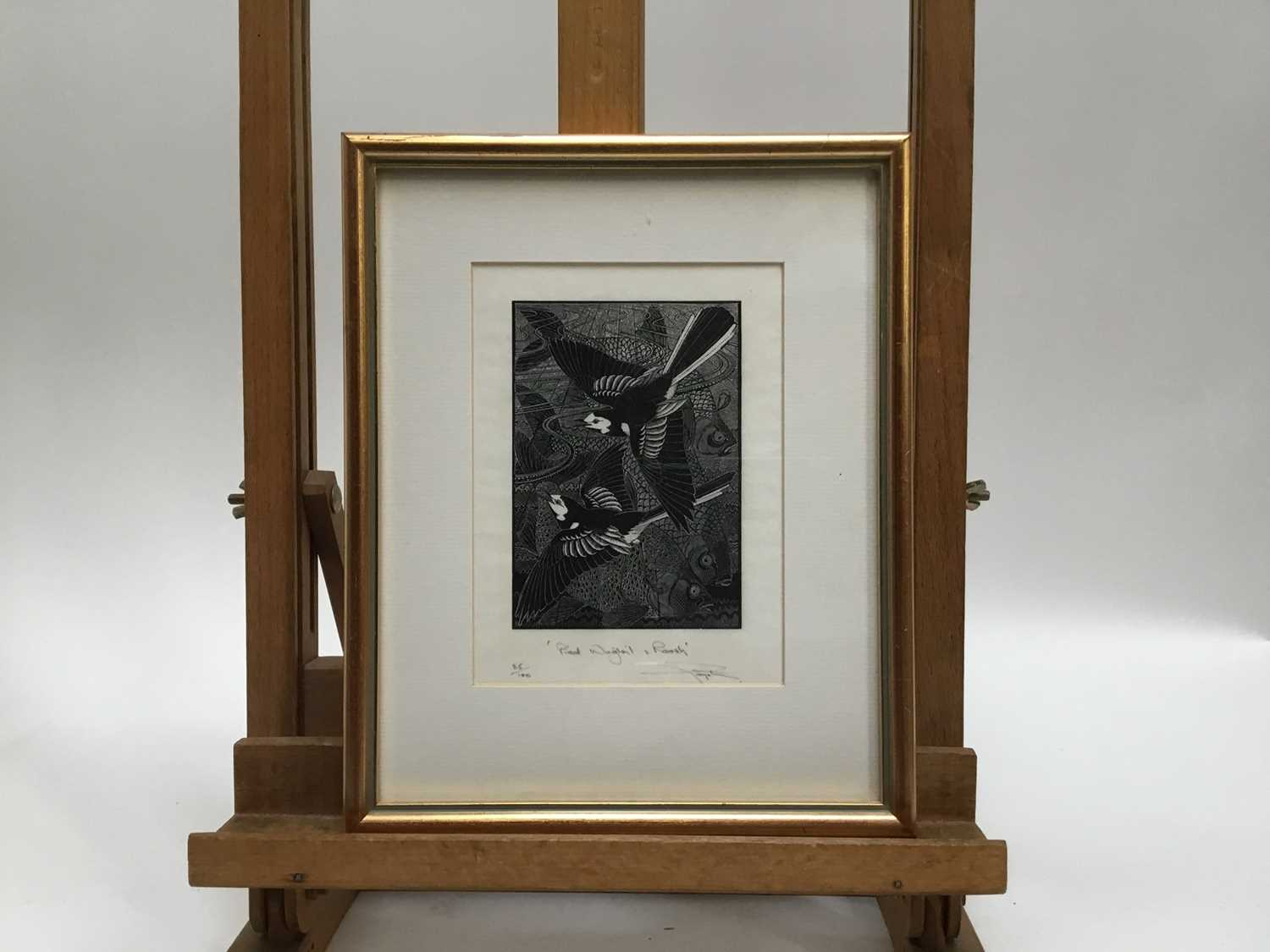 Group of six contemporary prints - Image 11 of 17