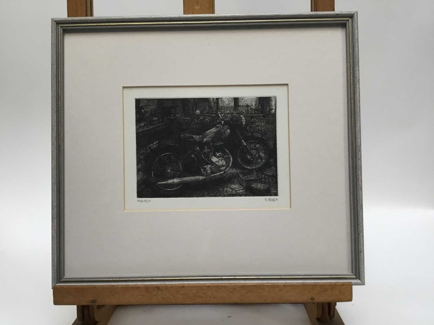 Group of six contemporary prints - Image 15 of 17