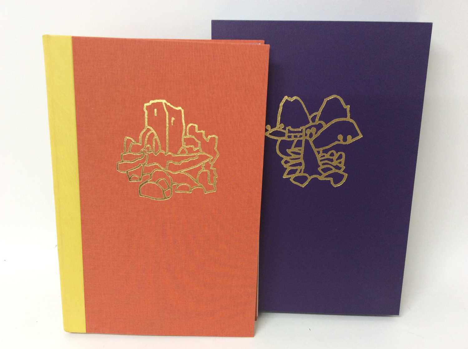 Pennant and His Welsh Landscape with woodcuts by Rigby Graham by Gregynog Press 2006, limited editio