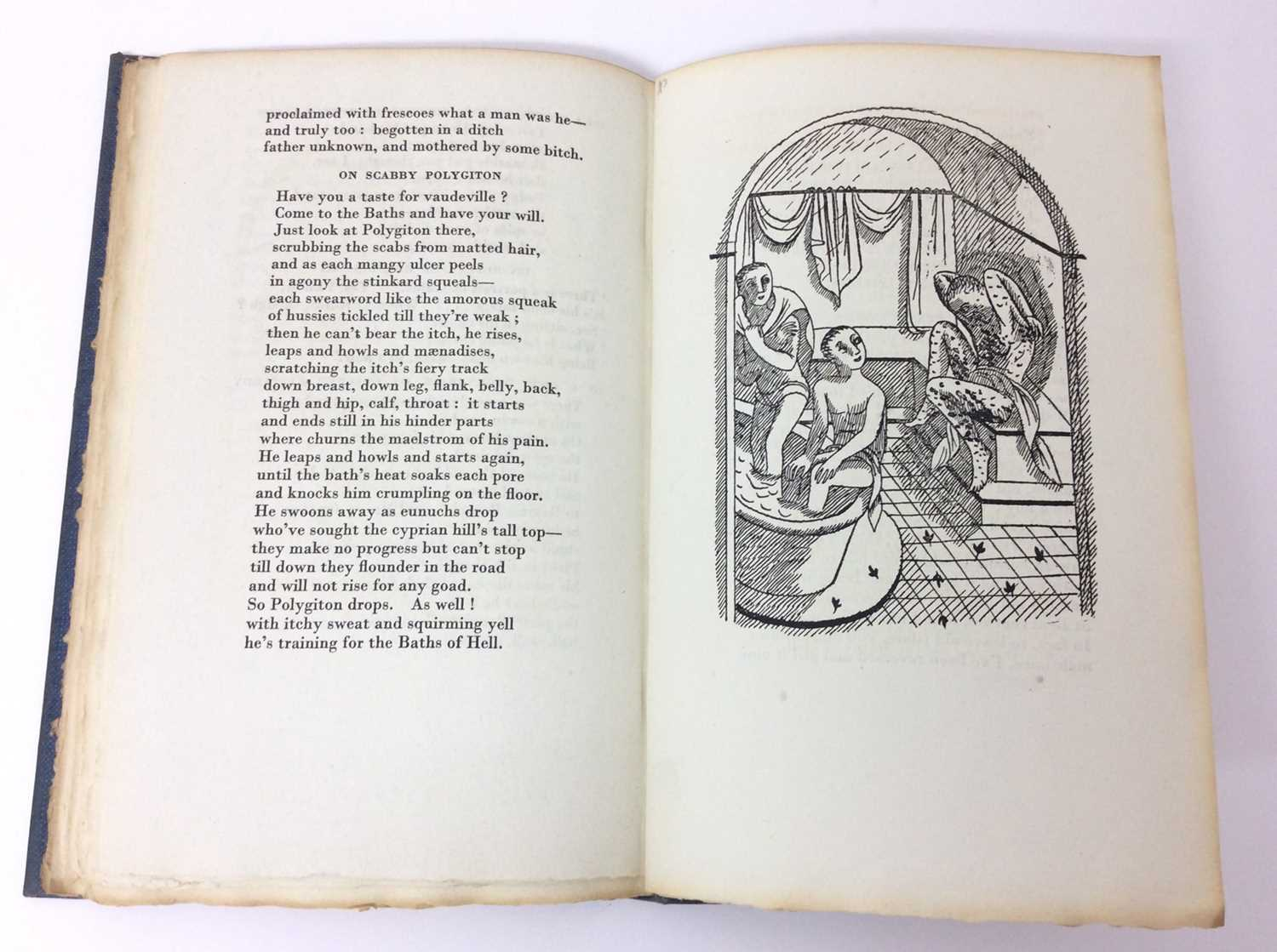 Patchwork Quilt. Poems by Decimus Magnus Ausonius, with illustrations by Edward Bawden, Franfrolico - Image 6 of 7