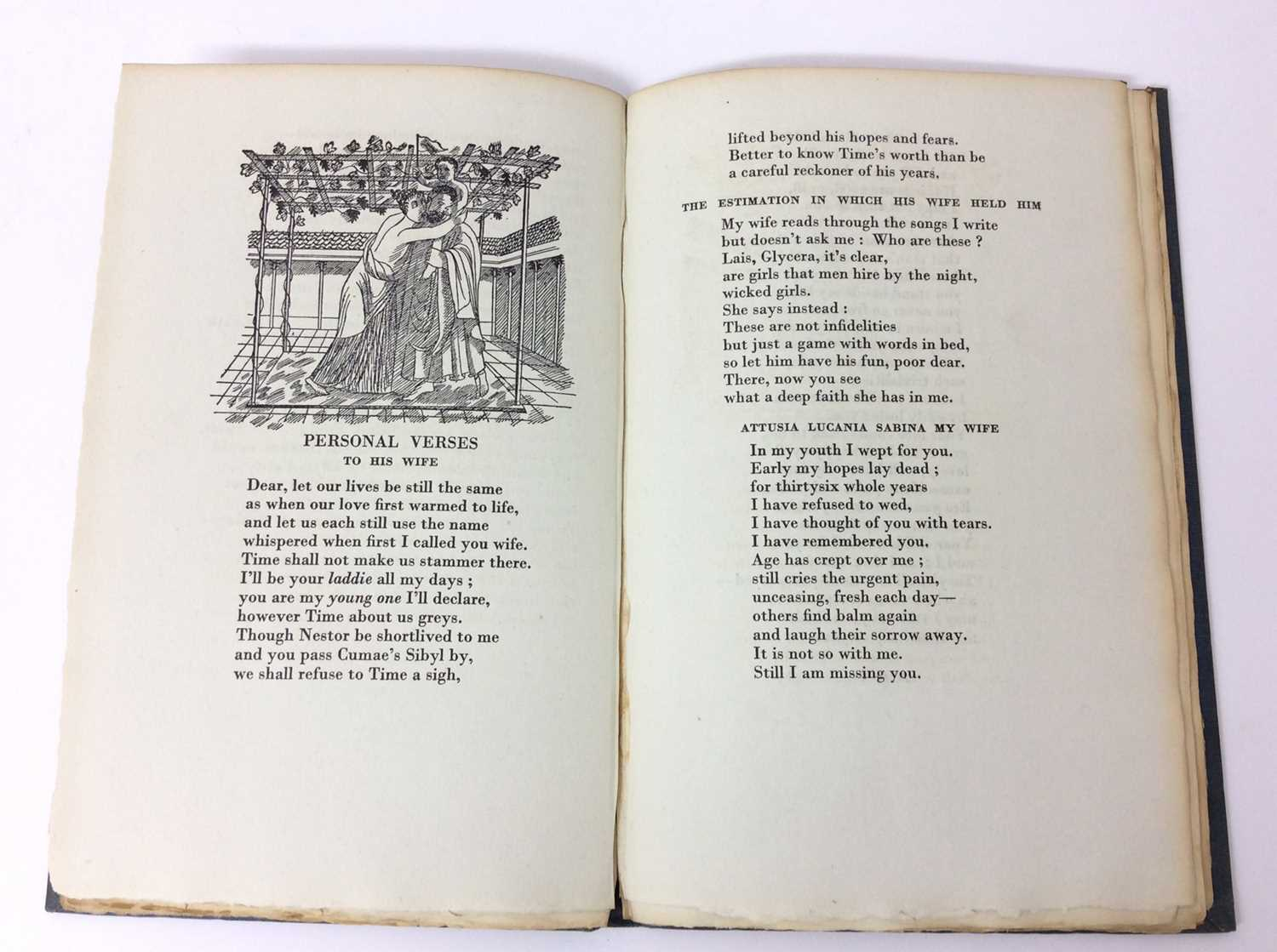 Patchwork Quilt. Poems by Decimus Magnus Ausonius, with illustrations by Edward Bawden, Franfrolico - Image 5 of 7