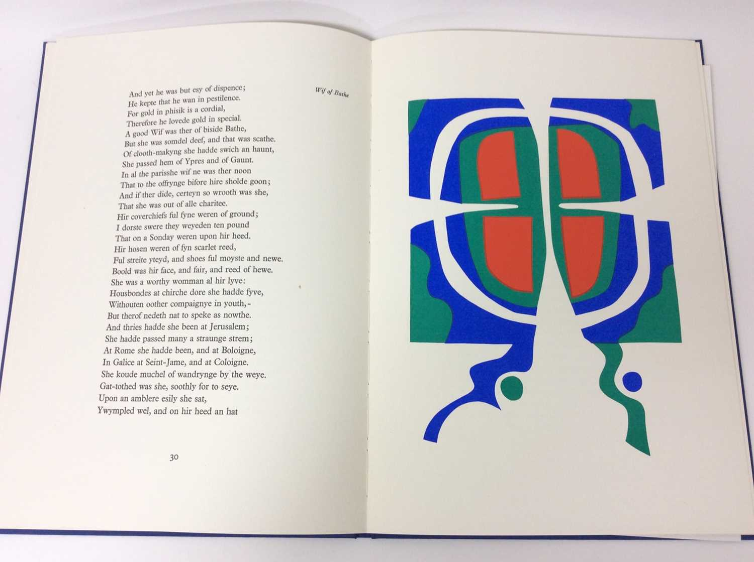 Geoffrey Chaucer and Ronald King (British b.1932) - The Prologue, From the Canterbury Tales - Image 6 of 8
