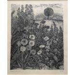 Group of six contemporary prints