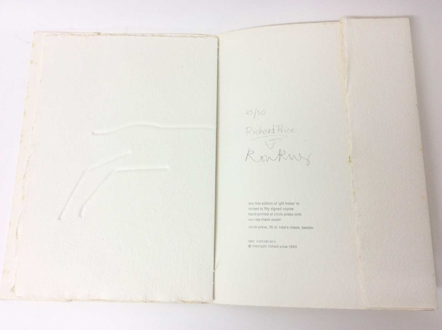 Ronald King and Circle Press publications, good collection (9) - Image 8 of 26