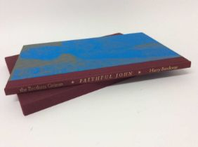 """""""Faithful John"""", 1998, woodcuts by Harry Brockway, transl. Lucy Crane, number 29 of 220 copies"""
