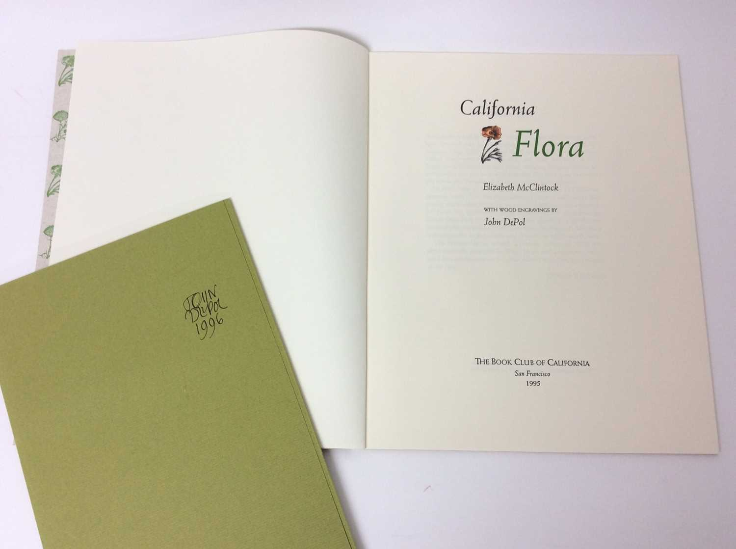 Elizabeth McClintoch - California Flora, The Book Vlub of California, 1995, two others - Image 3 of 16