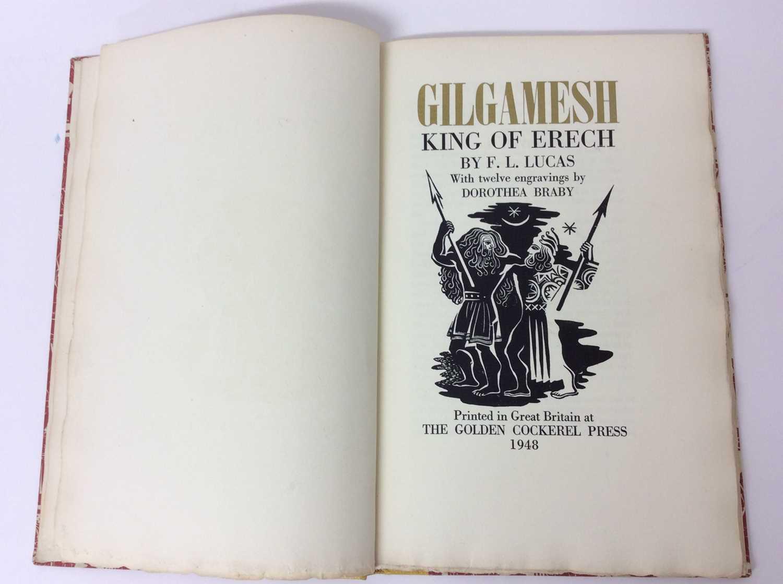 """F. L. Lucas: """"Gilgamesh, King of Erech"""", published Golden Cockerel Press 1948 - Image 3 of 9"""