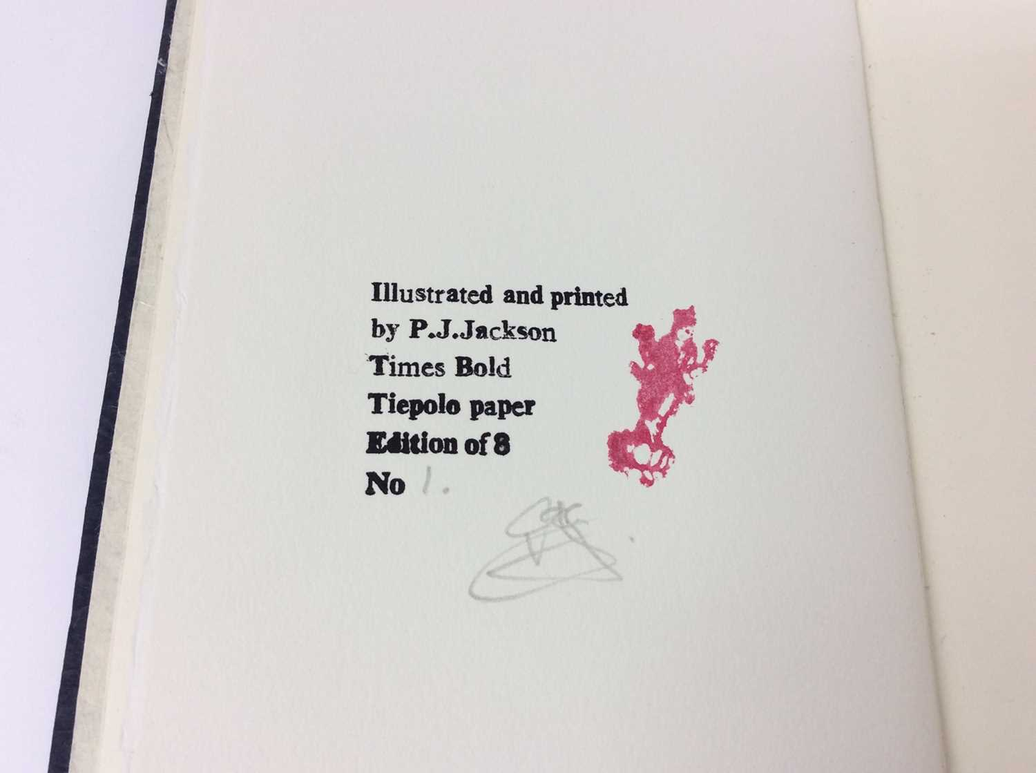 P. J. Jackson - three very limited edition private publications - Image 4 of 11
