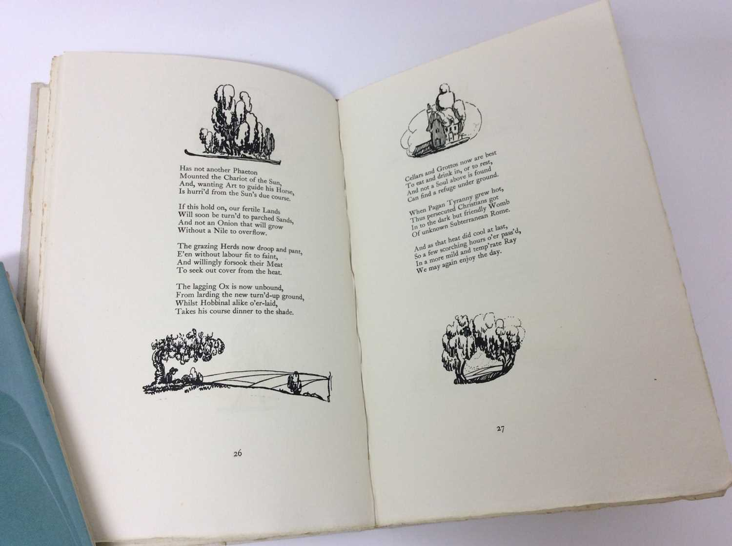 Evelyn Ansell - Twenty Five Poems, also Poems from the Works of Charles Cotton, illustrated by Claud - Image 12 of 13