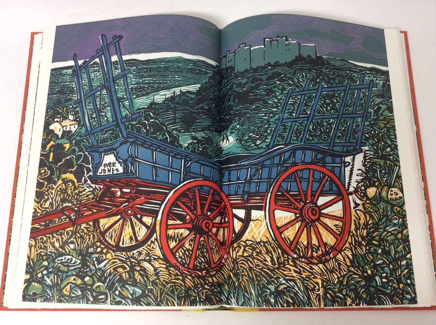 Pennant and His Welsh Landscape with woodcuts by Rigby Graham by Gregynog Press 2006, limited editio - Image 7 of 9