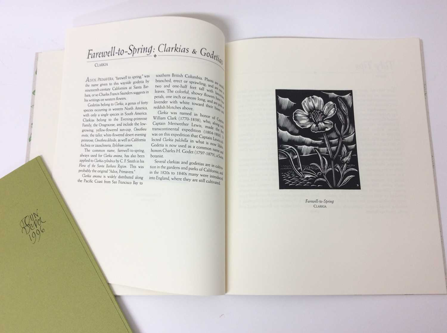 Elizabeth McClintoch - California Flora, The Book Vlub of California, 1995, two others - Image 5 of 16