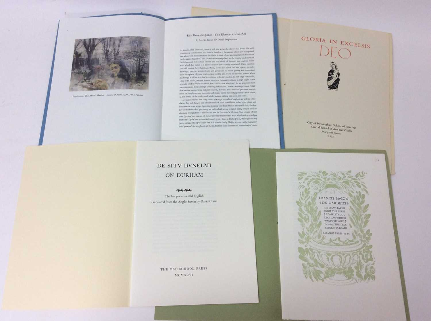 A bundle of private press booklets - Image 2 of 4