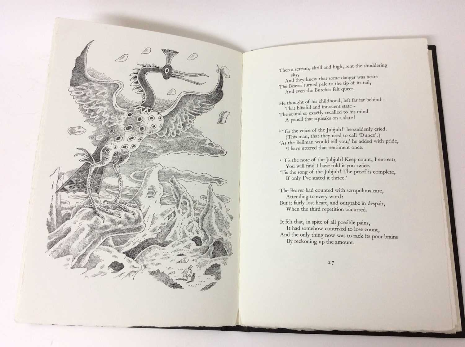 Lewis Carroll - The Hunting of the Snark, Whittington Press 1975, 404/750 - Image 8 of 10