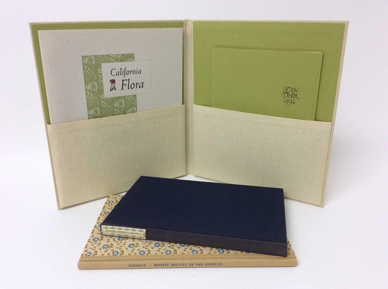 Elizabeth McClintoch - California Flora, The Book Vlub of California, 1995, two others