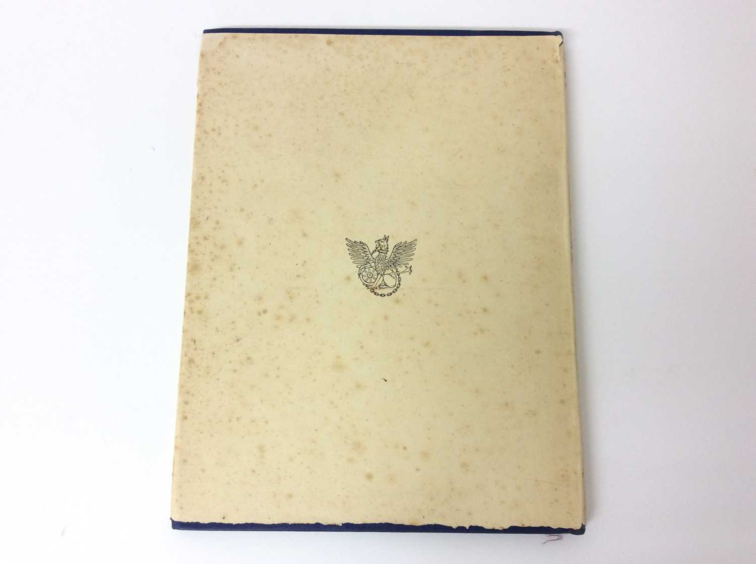 Christopher Sandeman - Thyme and Bergamot, illustrated by John O'Connor, Dropmore Press, 1947, numbe - Image 10 of 10