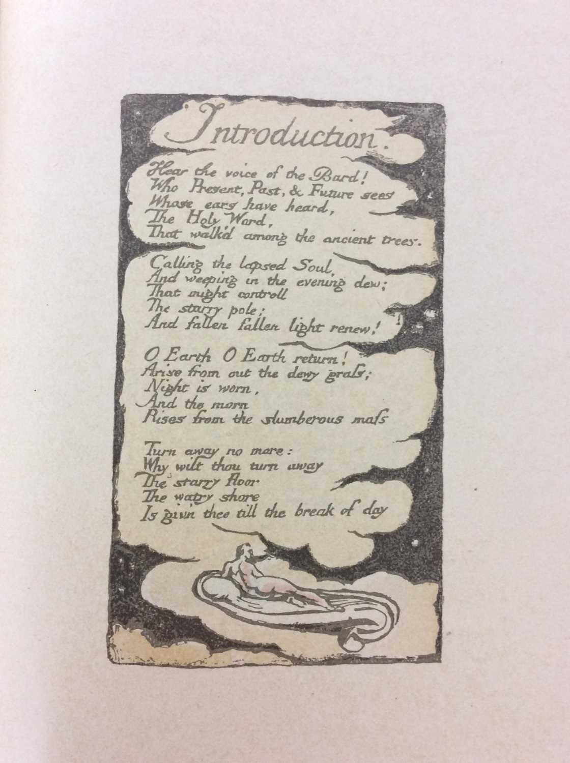 William Blake - Songs of Experience, Songs of Innocence, together with Mr Kilburn's Calicos - Image 4 of 15