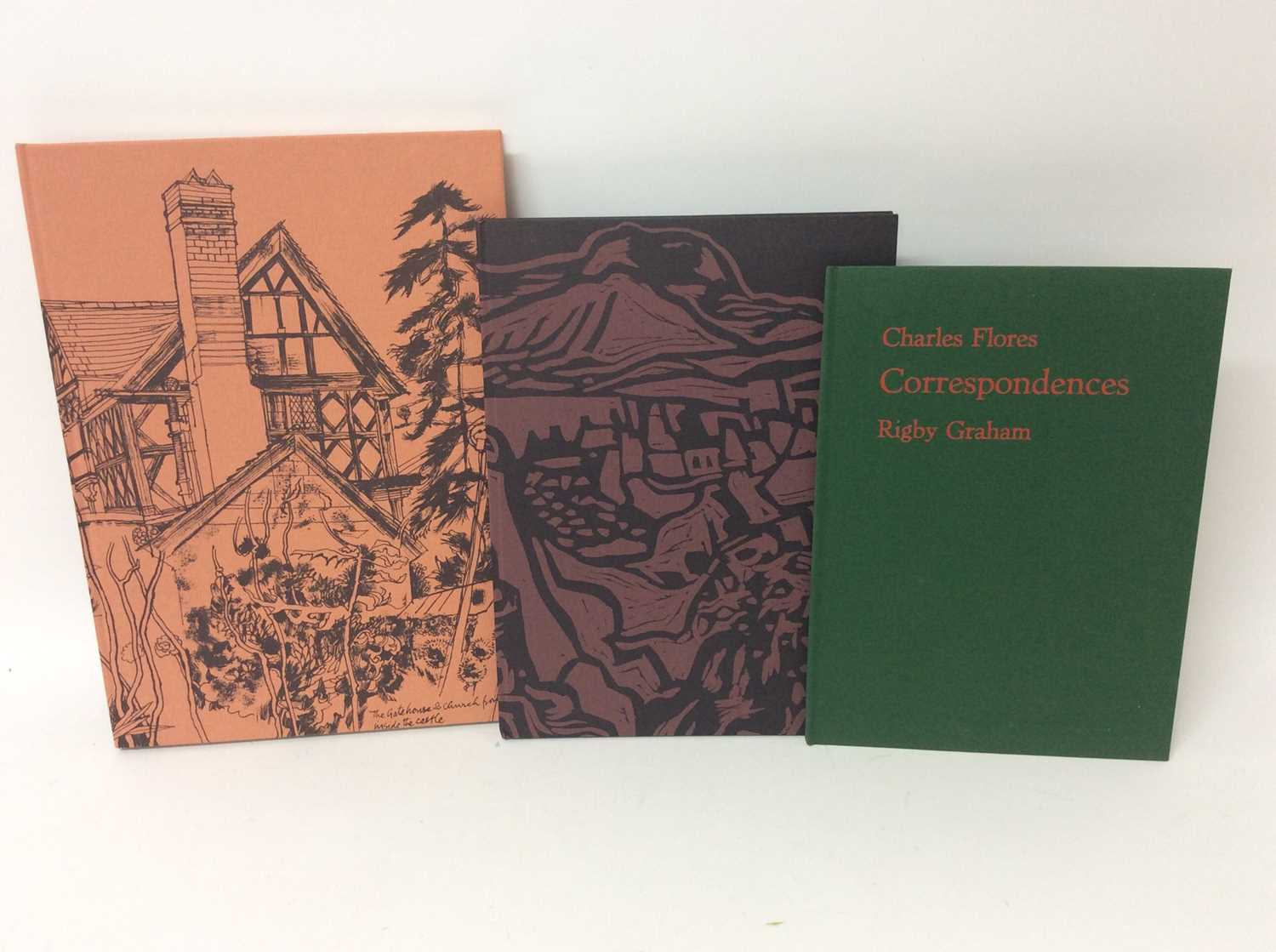 Rigby Graham, three limited edition publications