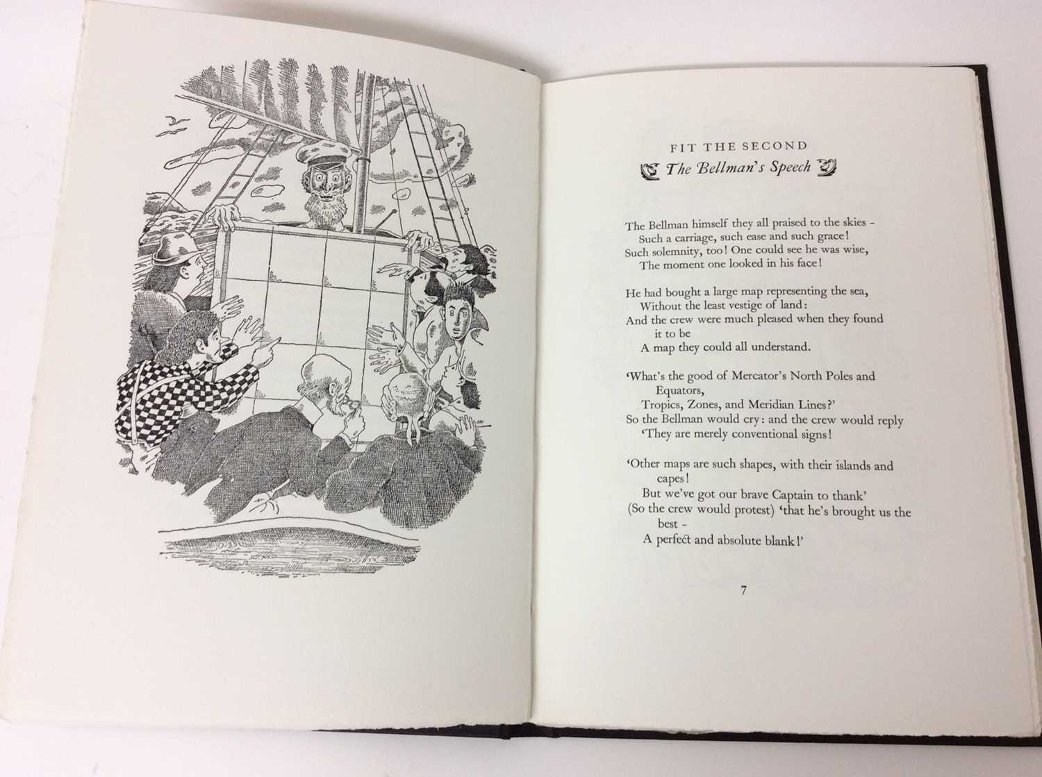 Lewis Carroll - The Hunting of the Snark, Whittington Press 1975, 404/750 - Image 6 of 10