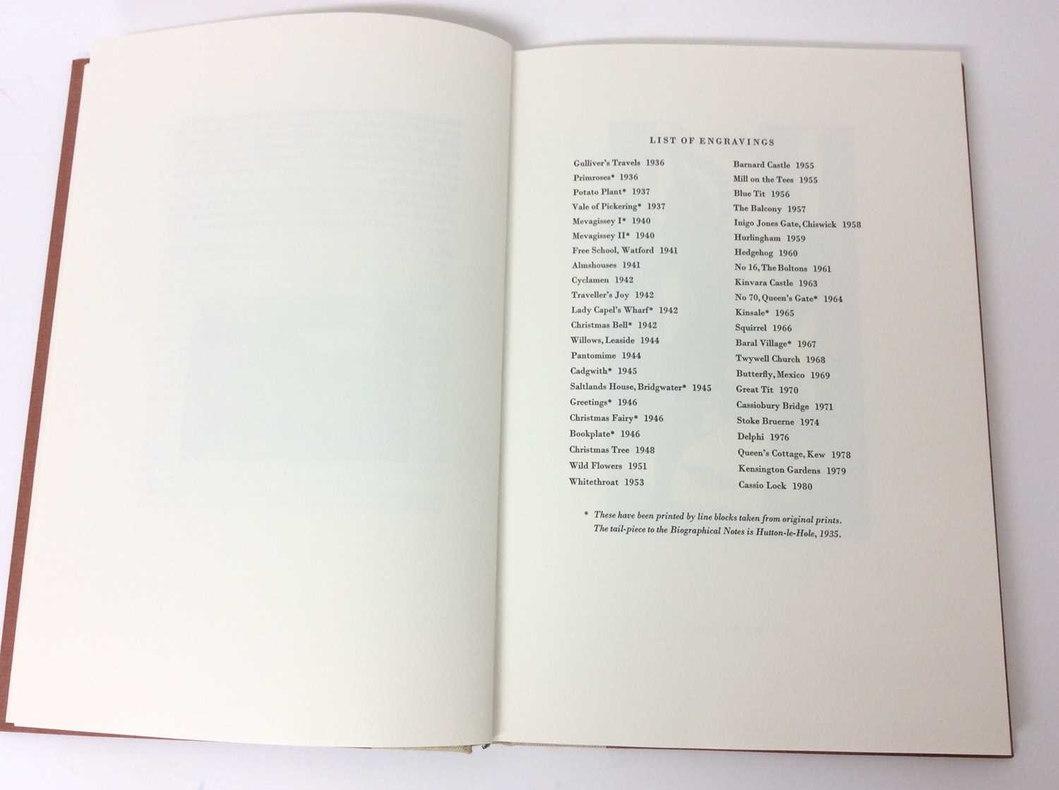 Mary Skempton - The Wood Engravings of Mary Skempton limited edition of 150 - Image 3 of 7