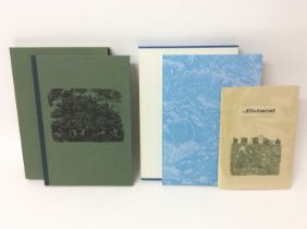 Miriam Macgregor - The Engraver's Cut, and two others by the same Miriam Macgregor. (3)