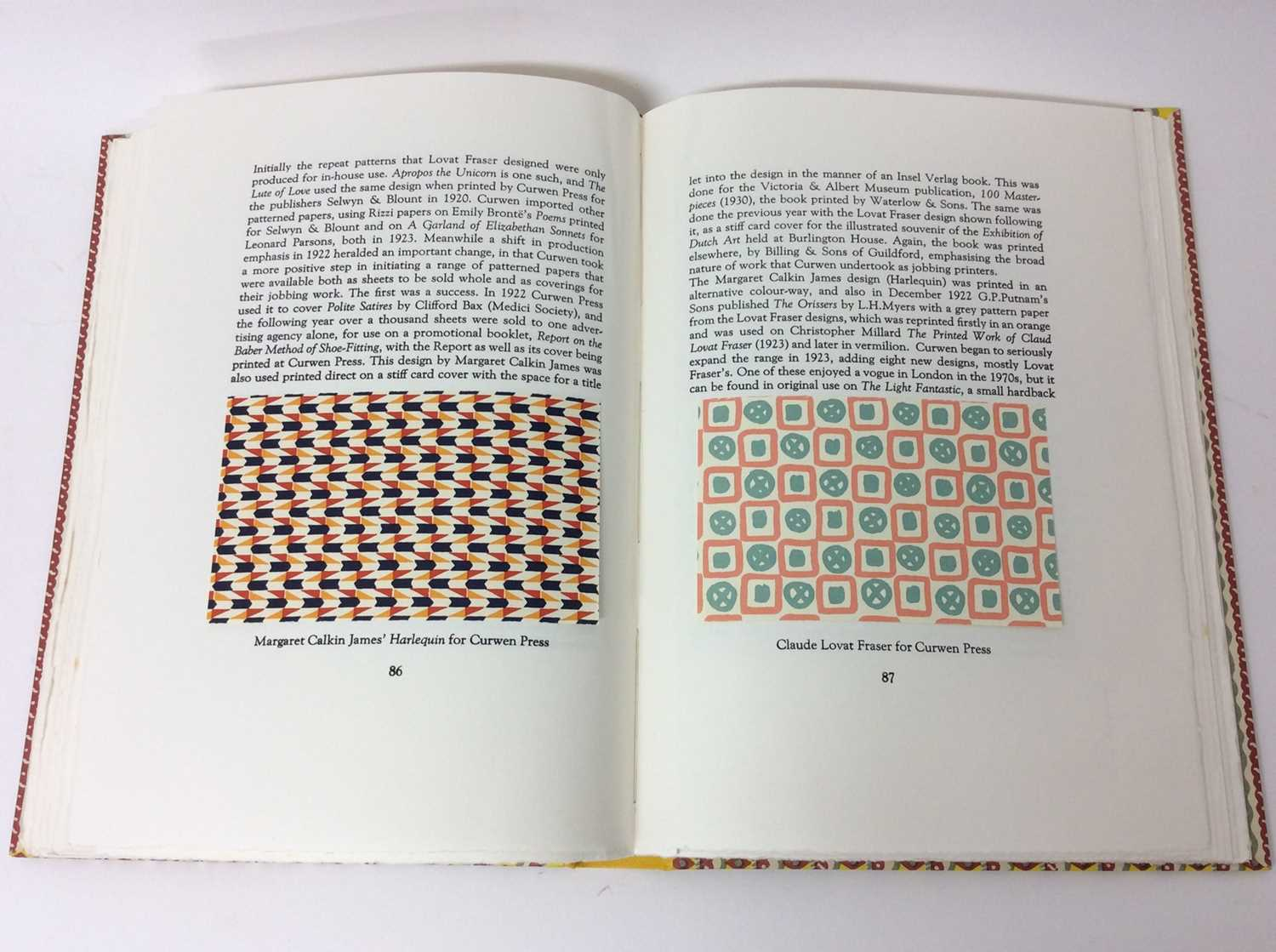 In Praise of Patterned Papers, Incline Press, 200/300 - Image 8 of 12