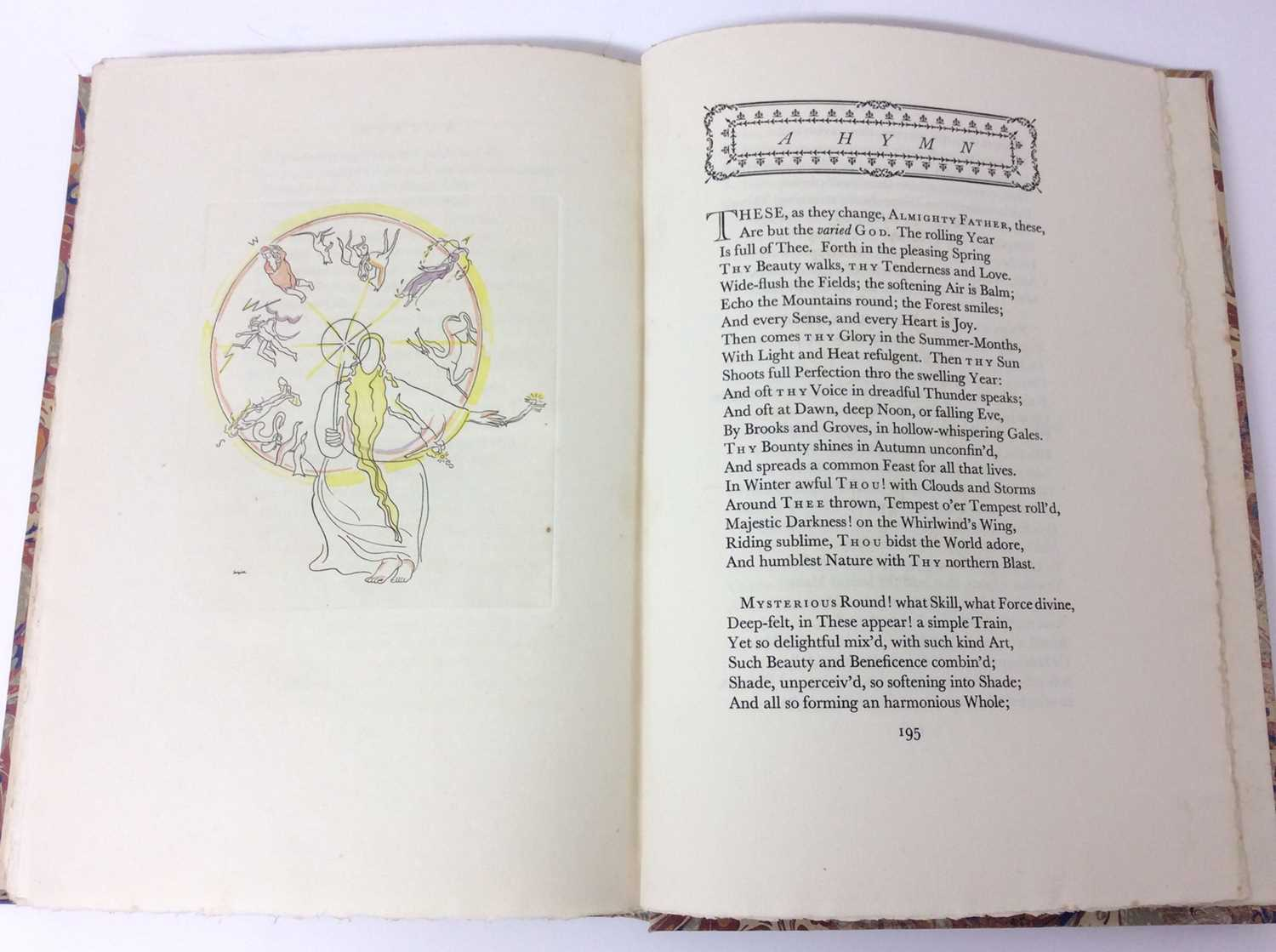 The Seasons by James Thomson, Nonesuch Press 1927, numbered 186 out of 1,500 copies, 1927 - Image 9 of 10