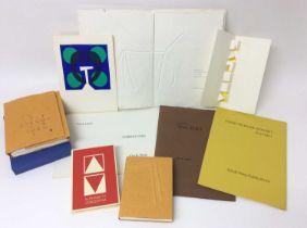 Ronald King and Circle Press publications, good collection (9)