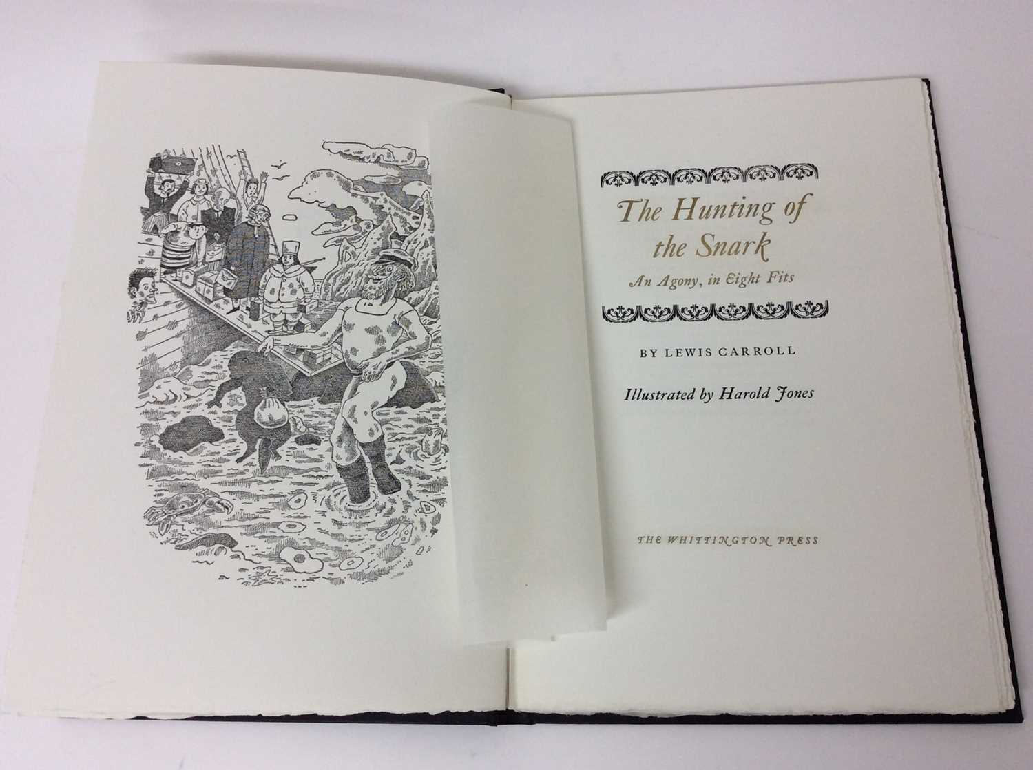 Lewis Carroll - The Hunting of the Snark, Whittington Press 1975, 404/750 - Image 3 of 10