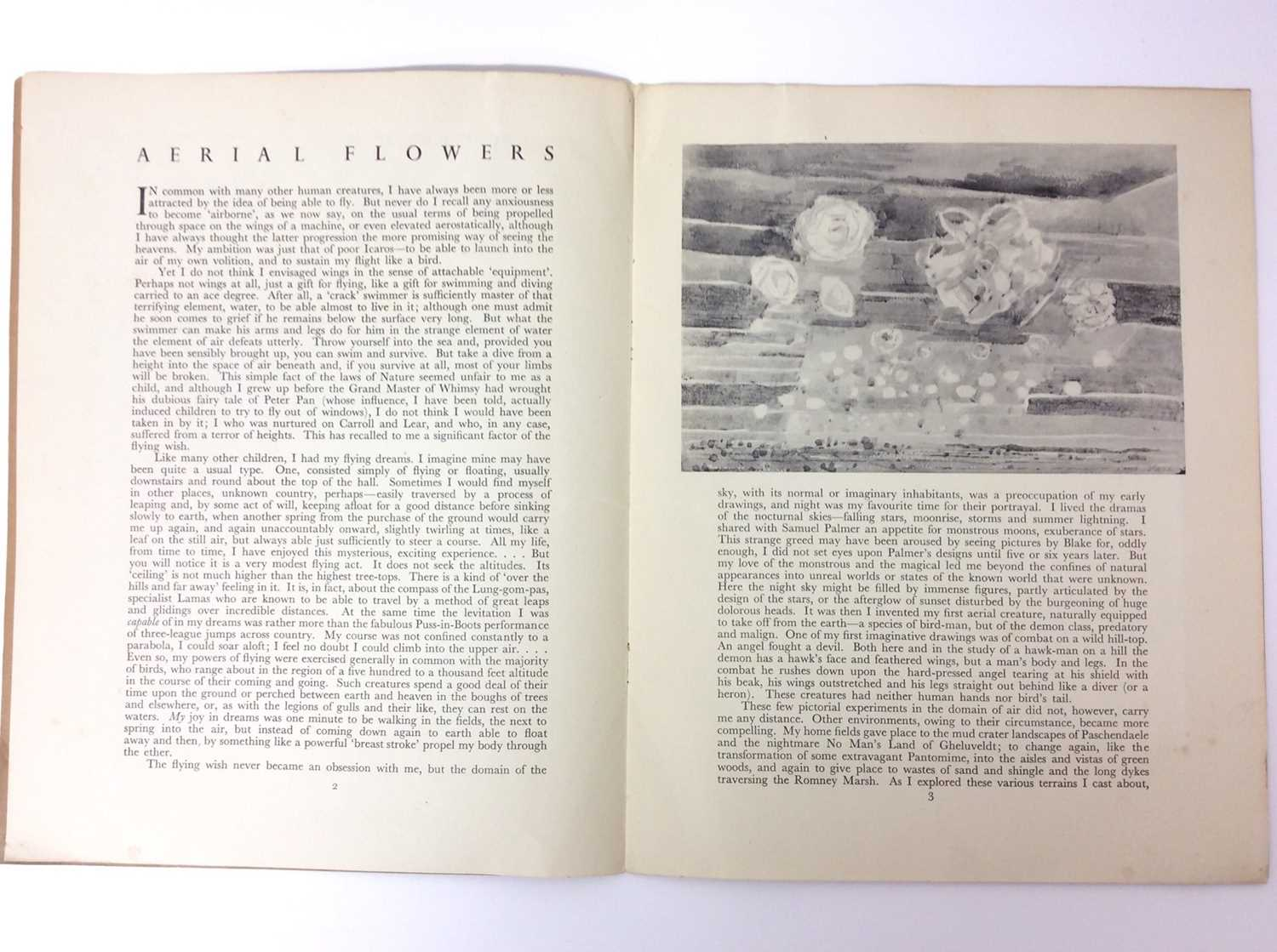 Paul Nash, Monster Field, limited to an edition of 1000, together with Aerial Flowers - Image 8 of 11