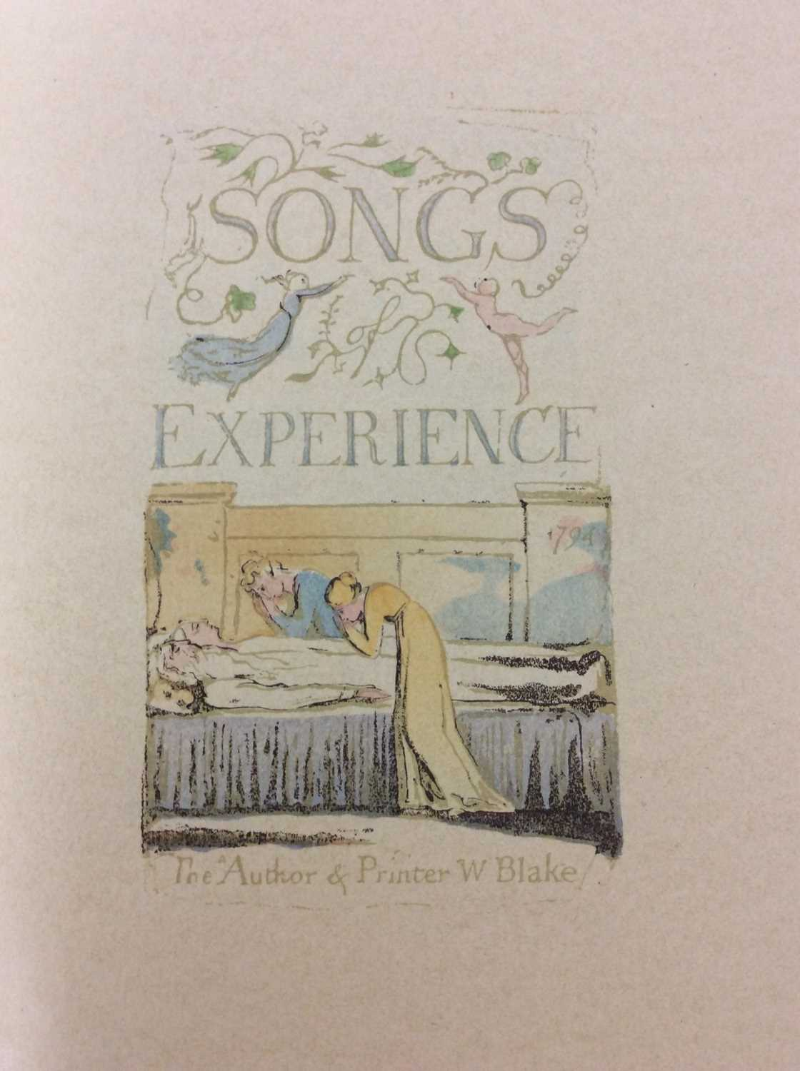 William Blake - Songs of Experience, Songs of Innocence, together with Mr Kilburn's Calicos - Image 3 of 15