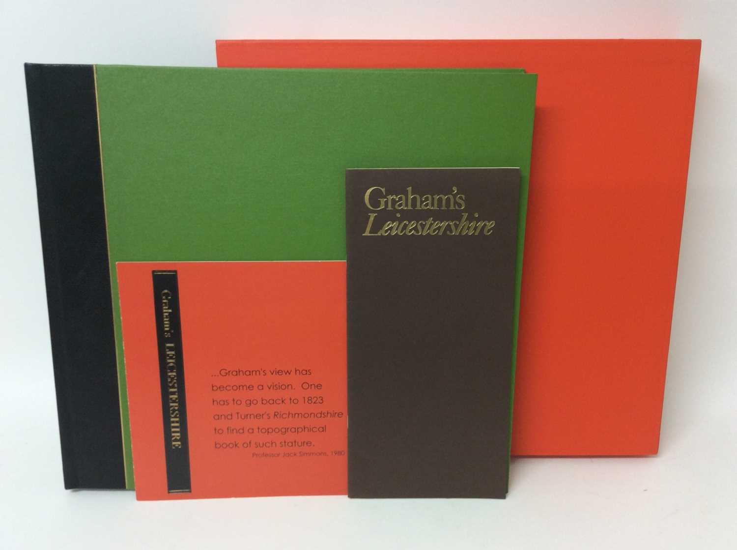 Rigby Graham, Leicestershire, Sycamore Press / Gadsby Gallery, Leicester 1980, folio book in slip co