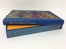 Ann Muir - Harvesting Colour, Incline press 1999, no. 89 of 225 signed copies, slip case
