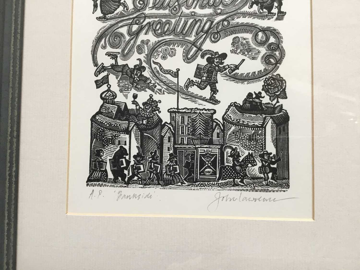 Group of six contemporary prints - Image 14 of 17