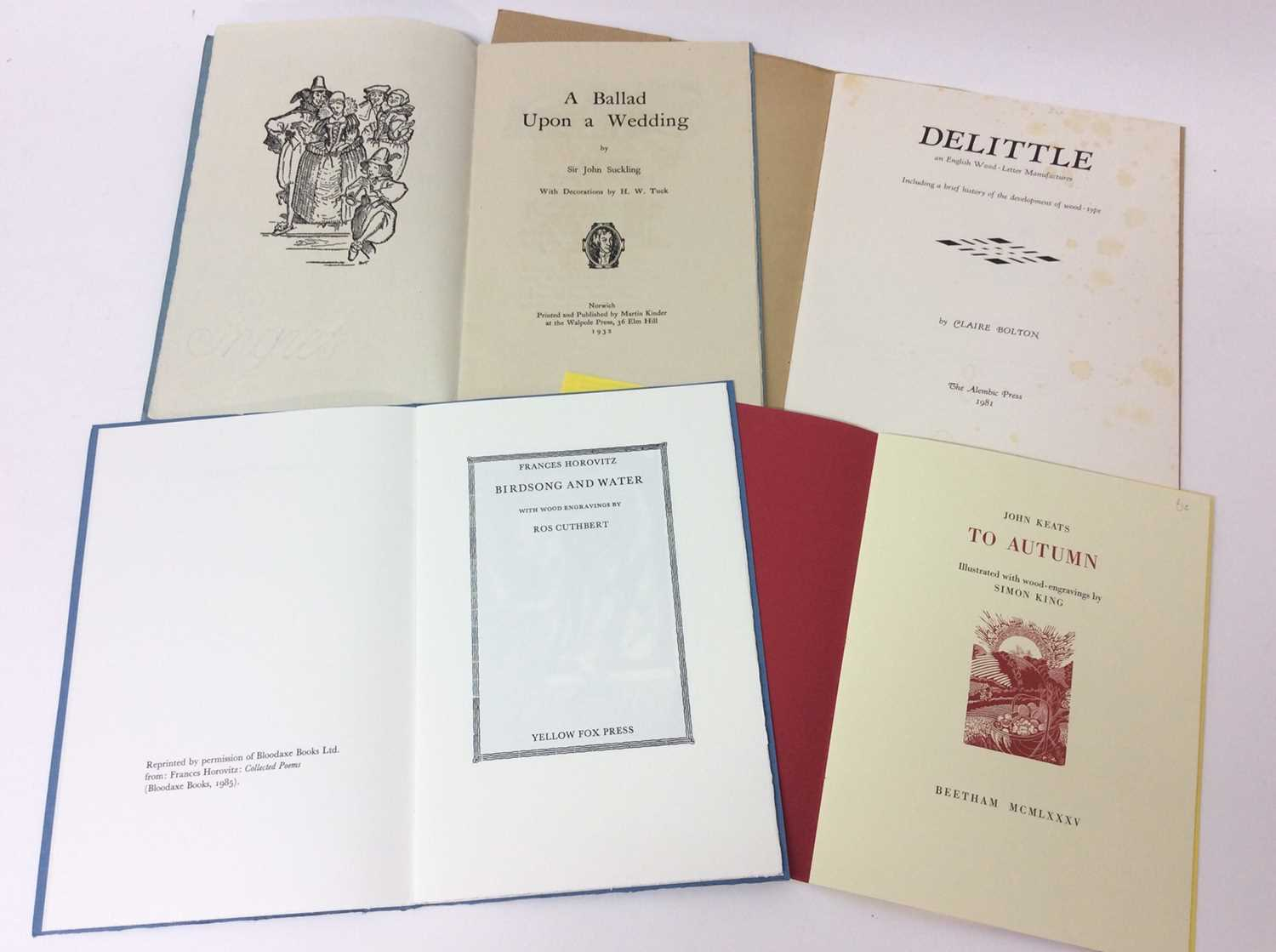 A bundle of private press booklets - Image 4 of 4