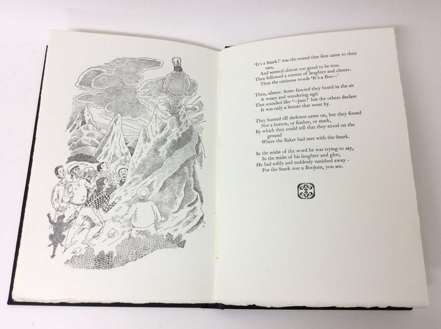 Lewis Carroll - The Hunting of the Snark, Whittington Press 1975, 404/750 - Image 9 of 10