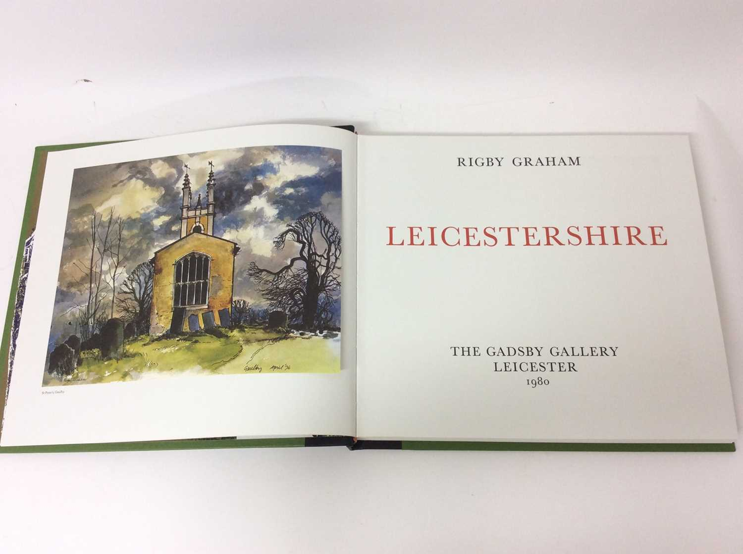 Rigby Graham, Leicestershire, Sycamore Press / Gadsby Gallery, Leicester 1980, folio book in slip co - Image 4 of 10