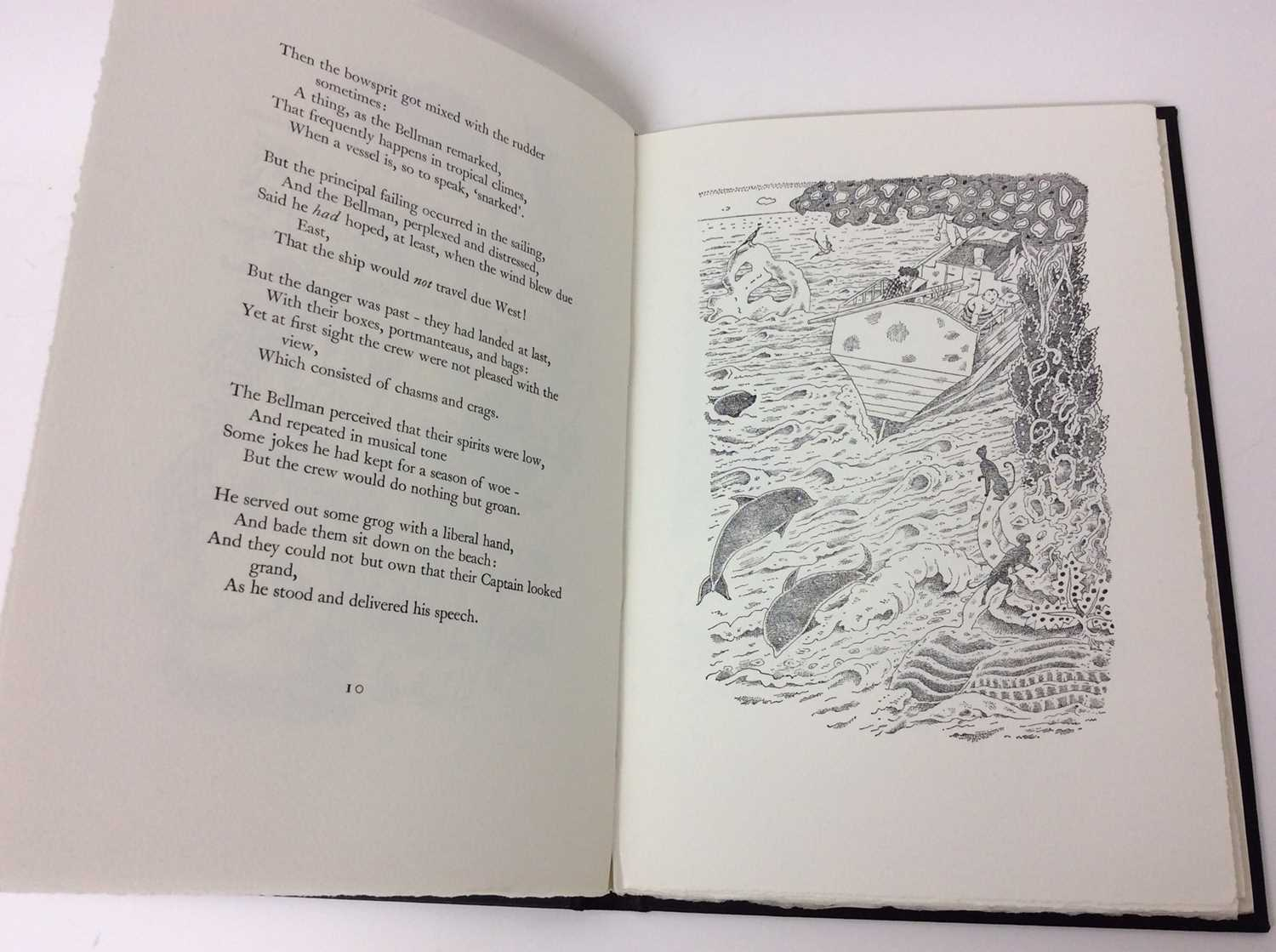 Lewis Carroll - The Hunting of the Snark, Whittington Press 1975, 404/750 - Image 7 of 10