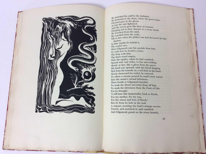 """F. L. Lucas: """"Gilgamesh, King of Erech"""", published Golden Cockerel Press 1948 - Image 7 of 9"""