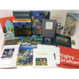 Rigby Graham- Postcards for Murphy, signed and numbered 46 /50,: together with various Rigby Graham