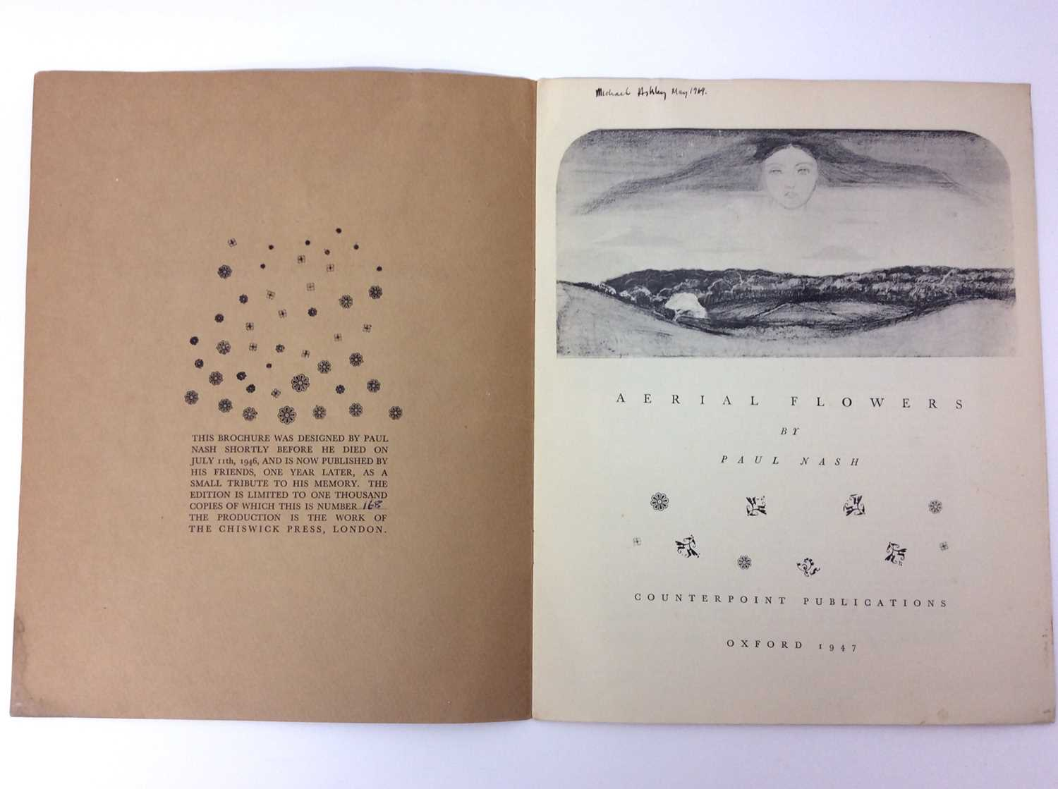 Paul Nash, Monster Field, limited to an edition of 1000, together with Aerial Flowers - Image 7 of 11