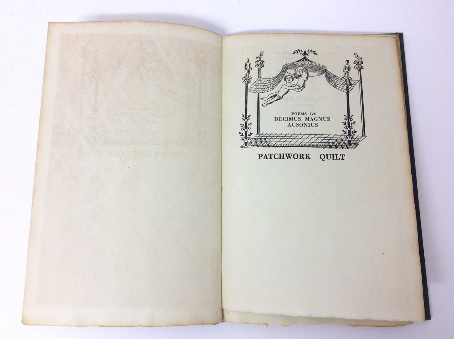 Patchwork Quilt. Poems by Decimus Magnus Ausonius, with illustrations by Edward Bawden, Franfrolico - Image 2 of 7