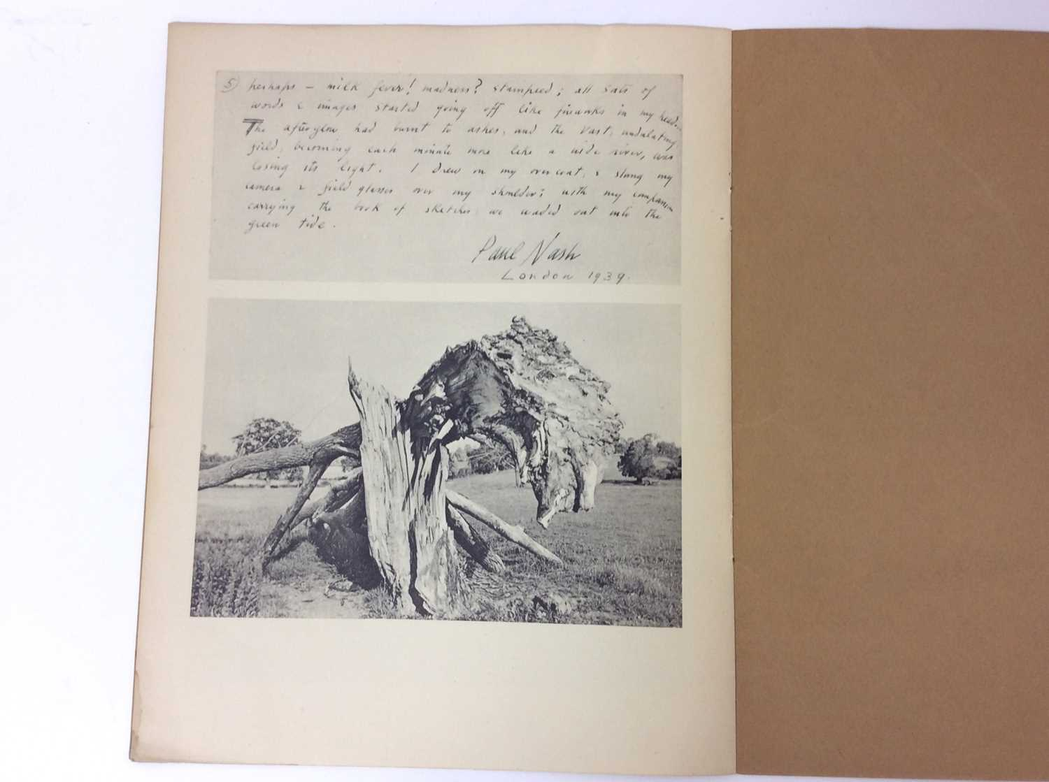 Paul Nash, Monster Field, limited to an edition of 1000, together with Aerial Flowers - Image 6 of 11