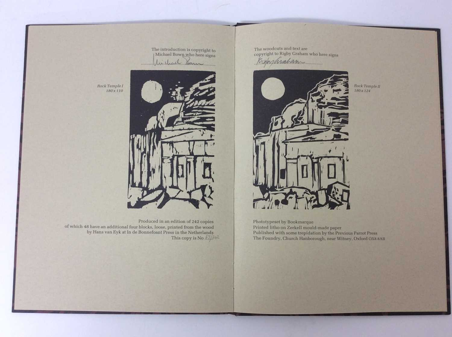 Rigby Graham, three limited edition publications - Image 10 of 13