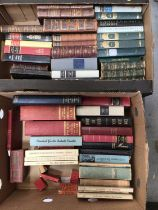 Two boxes of books, mostly early to mid 20th century German