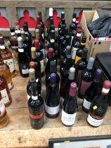 39 mixed bottles of wine
