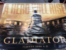 Gladiator film quad poster