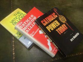 Three First Edition books by Avro Manhattan (3)